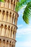 Zamknięty krótkopęd część Pisa wierza Zdjęcie Stock