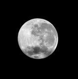 zamknięty księżyc w pełni zdjęcie stock