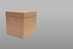 Zamknięty kwadratowy pudełko w tle Zdjęcia Royalty Free