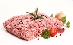 zamknięty mięso przygotowywa target1227_0_ zamknięty Zdjęcia Royalty Free