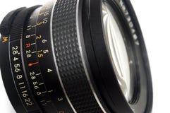 zamknięty obiektyw zamknięta fotografia Zdjęcie Stock