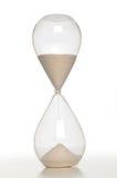 zamknięty piaska zamknięty zegar zdjęcie stock