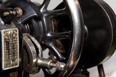 zamknięty szczegółu maszyny zaszywanie zamknięty Fotografia Stock