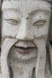 zamknięty twarz zamknięty kamień Obraz Stock