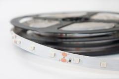 Zamknięty widok DOWODZENI lampasy na białym tle Obraz Royalty Free
