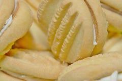 Zamknięty widok Yoyo ciastka Fotografia Stock