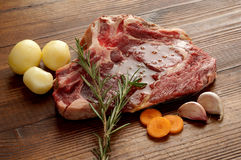 zamknięty wołowina stek Obrazy Stock