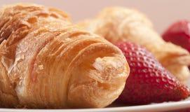 zamknięty zamknięci croissants Zdjęcie Royalty Free