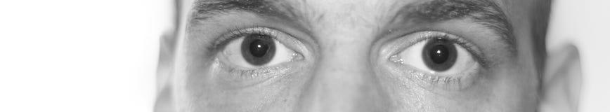 zamknięty zamknięci oczy Obraz Stock