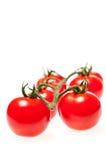 zamknięty zamknięci wiśnia pomidory Obrazy Stock