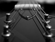 zamknięty zamknięta gitara obraz stock