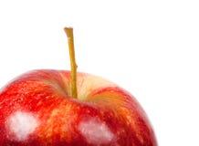 zamknięty zamknięta jabłko czerwień Zdjęcie Stock