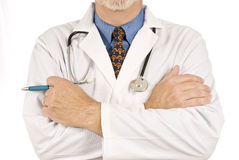 zamknięty zamknięta lekarka Obraz Stock