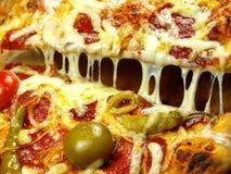zamknięty zamknięta pizza zdjęcia stock