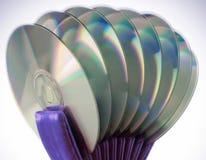 zamkniętych płyta kompaktowa płaska płaski rozprzestrzeniająca powierzchnia rozprzestrzeniać Zdjęcia Stock