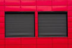 Zamknięci okno abstrakcjonistyczni Obraz Stock