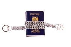 zamknięci paszporty fotografia stock