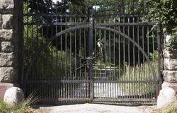 zamknięta brama Obrazy Royalty Free