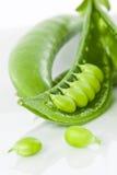 zamknięty grochowy rozszczepiony cukierki rozszczepiony Fotografia Royalty Free