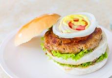 zamknięty hamburger Obraz Stock