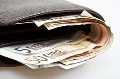 zamknięty portfel Zdjęcie Stock