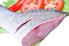 zamknięty rybi surowy up Fotografia Royalty Free