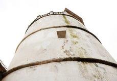 Zamknięty spojrzenie latarnia morska Aguada fort Obrazy Stock