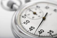 zamknięty stopwatch up Zdjęcie Royalty Free