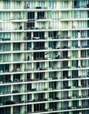 Zamknięty widok budynek mieszkaniowy Obraz Royalty Free
