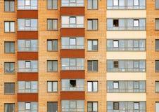 Zamknięty widok na residental budynku Zdjęcie Royalty Free