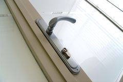 zamknij drzwi do white Zdjęcie Stock