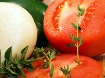 zamknijcie warzywa Obraz Stock