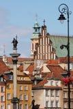 старый квадратный городок zamkowy стоковое изображение rf