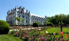 zamku de France chenonceau Loire valley zdjęcia stock