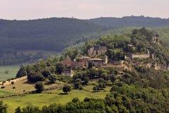 zamku marqueyssac de France Obraz Royalty Free