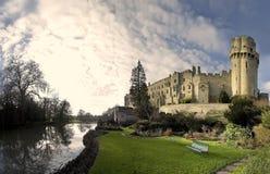 zamku warwick Fotografia Royalty Free