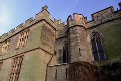 zamku warwick Zdjęcia Royalty Free