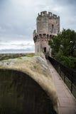 zamku warwick Obrazy Royalty Free