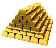 Wiązka złociści bary Zdjęcie Stock