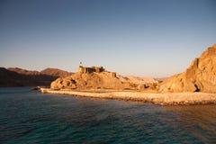 Zamon Castle. In Egypt, from the sea Stock Photos
