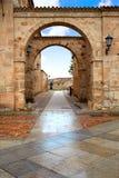 Zamora τετράγωνο καθεδρικών ναών στην Ισπανία στοκ φωτογραφία με δικαίωμα ελεύθερης χρήσης