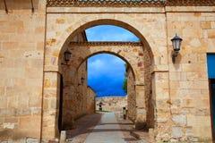 Zamora τετράγωνο καθεδρικών ναών στην Ισπανία στοκ εικόνες