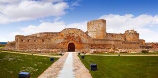 Zamora замок El Castillo в Испании стоковые изображения rf