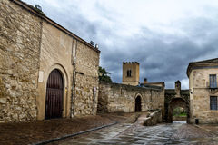 Zamora, ancient street Royalty Free Stock Image