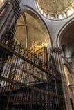 Zamora, binnenlandse kathedraal Royalty-vrije Stock Afbeeldingen