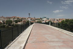 Zamora bridge Royalty Free Stock Photos