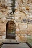 Zamora the castle El Castillo in Spain royalty free stock photo