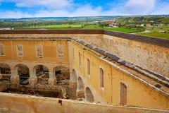Zamora the castle El Castillo in Spain royalty free stock images