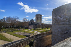 Zamora castle Stock Photography