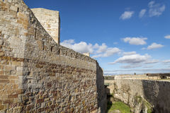 Zamora castle Royalty Free Stock Image